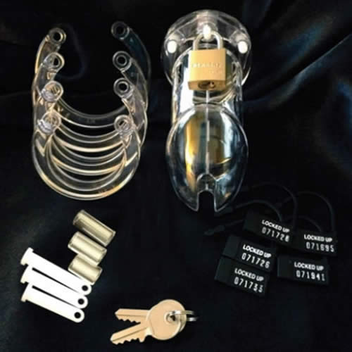 Chastity Belt For Men - CB-6000® Clear